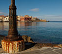 The harbour of Chania