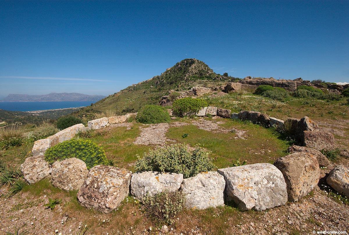 Ancient threshing floor in Polyrrhenia