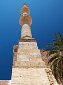 The minaret of Splanzia, Chania
