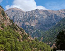 Cliffs of the Samaria gorge