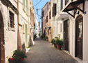 Street in the old town of Chania