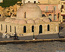 The mosque in Chania harbour