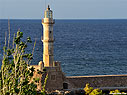 The Chania lighthouse