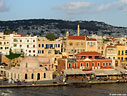 Evening light in Chania harbour