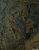 Detail of a fresco in the chapel of Agios Stefanos