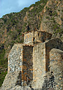 The chapel of Agios Pavlos - with cliff view
