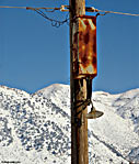Electric pole in Omalos