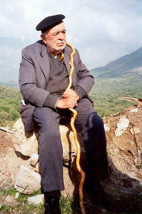 Giorgos Psychoundakis in May 2004
