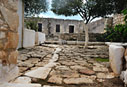 Courtyard of the monastery of Agios Ioannis in Aptera