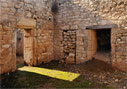 Roman bath house in Aptera