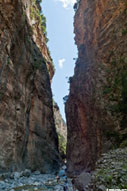 Samaria gorge: the 'Gates'