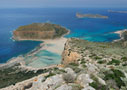 Balos lagoon and Gramvoussa islands