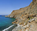 Walking between Loutro and Marmara