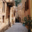 An alley in Chania
