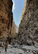 In the gorge of Samaria