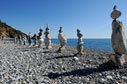Beach art in Sougia