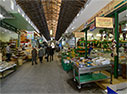 Inside Chania's covered market
