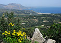 Kissamos seen from the acropolis of Polyrinia