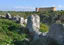 The Turkish fortress of Aptera