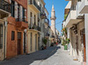 A minaret in Chania's old town