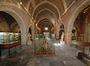 Inside the archaeological museum of Chania