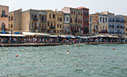 Busy on Chania harbour