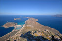 View of Balos and Gramvousa bay