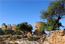 Turkish fort by Loutro