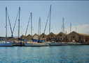 In the harbour of Chania