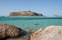 View from the bay of Balos