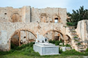 Ruins of the monastery of Agios Haralambos