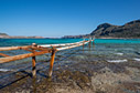 An old pier in Balos