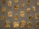 Painted Minoan faience plaques