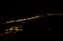 Platanias by night