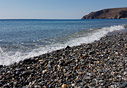 Sea shore in Sougia
