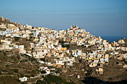The village of Olympos, Karpathos
