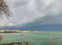 Stormy weather in Chania