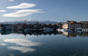 A sunny winter day in Chania harbour