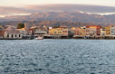 Early morning in Chania harbour