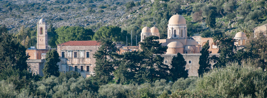 The monastery of Agia Triada