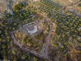 The ancient theater of Aptera (from above)