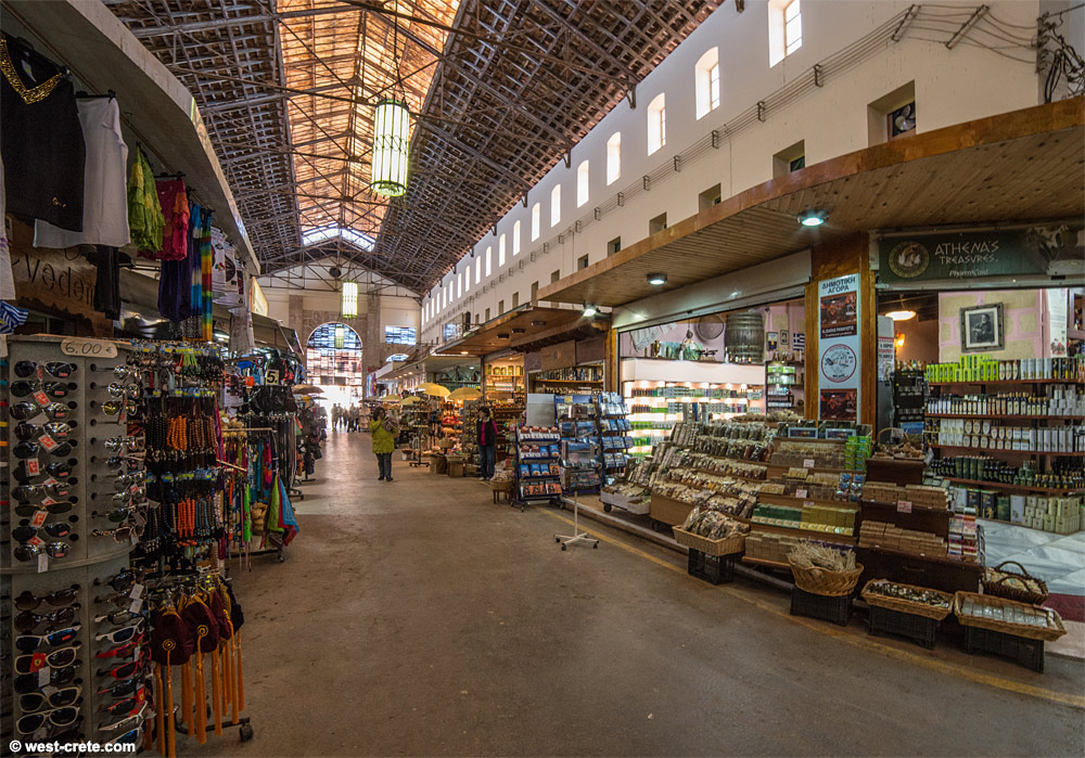The covered market of Chania