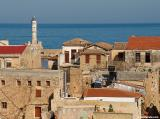 Chania rooftops and the lighthouse