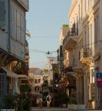An alley in the old town of Chania.