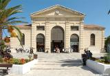 The covered market of Chania was modelled on the covered market of Marseilles