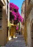 An alley in the old town of Chania
