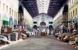 Inside the Chania covered market