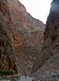 In the lower part of the gorge of Aradena (near Marmara)