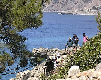 A coastal walk in South Crete