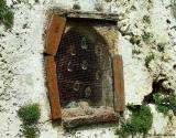 Window of the chapel of Agios Giorgos, Akrotiri